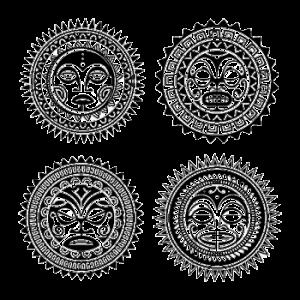 tatouage maorie le soleil 300x300