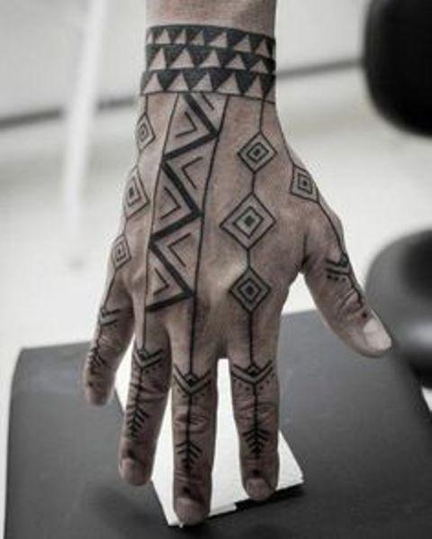 sur la main et les doigts 6
