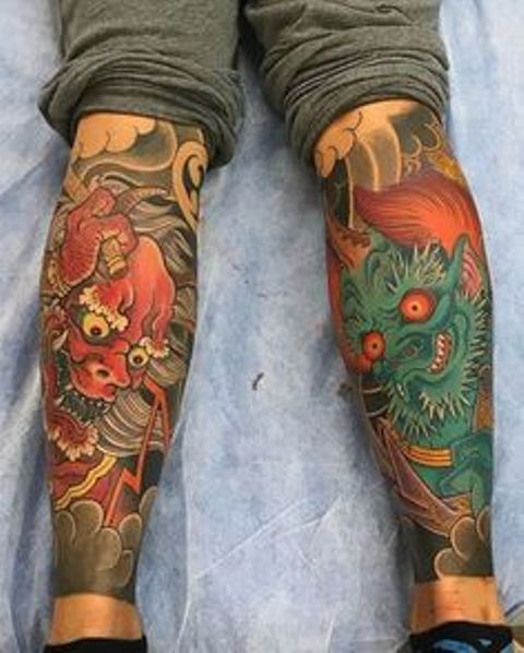 jambe japonaise 7