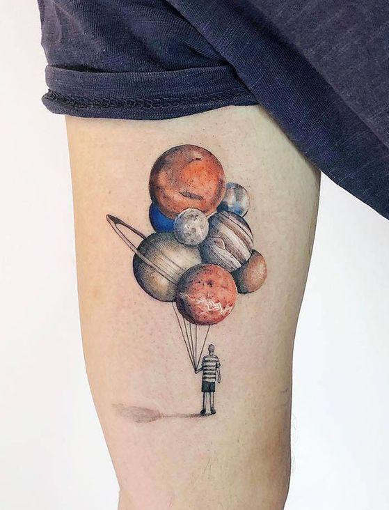 planètes tatouages 4 1