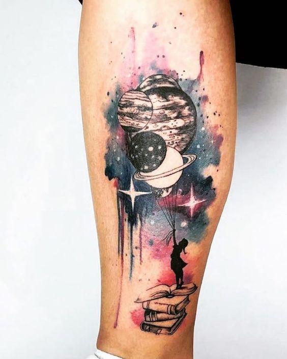 planètes tatouages 5 1