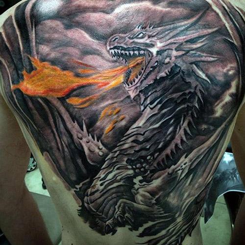 Tatouages de dragons pour hommes 4