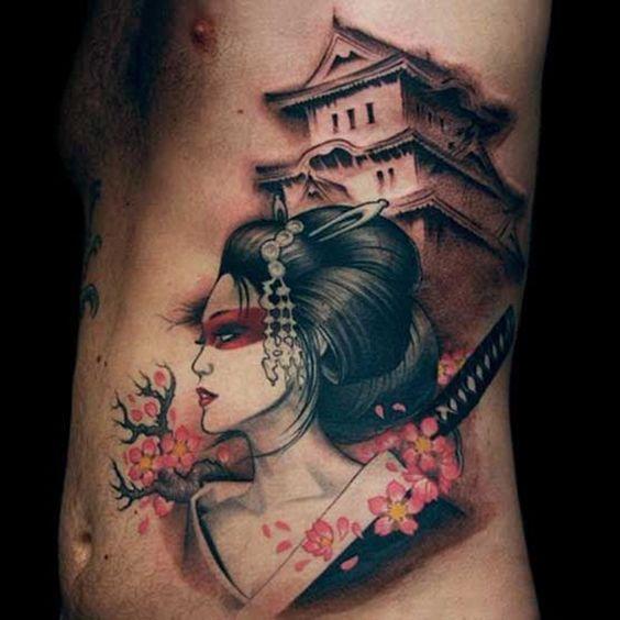 samouraïs et geisha 5