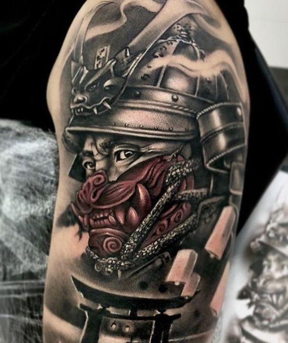 samouraïs dans le bras 4