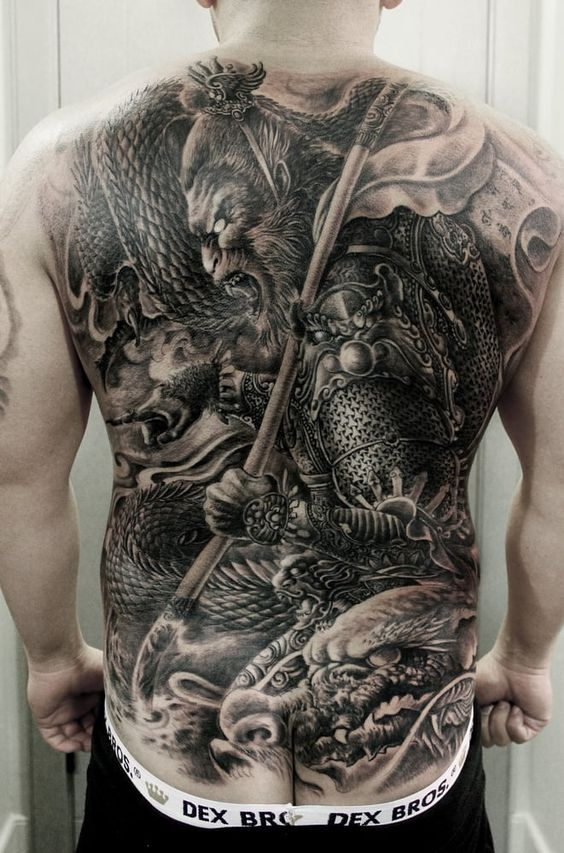 samouraïs et dragons 4