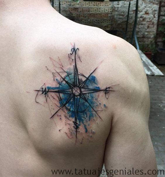 tatouage rose dos 2