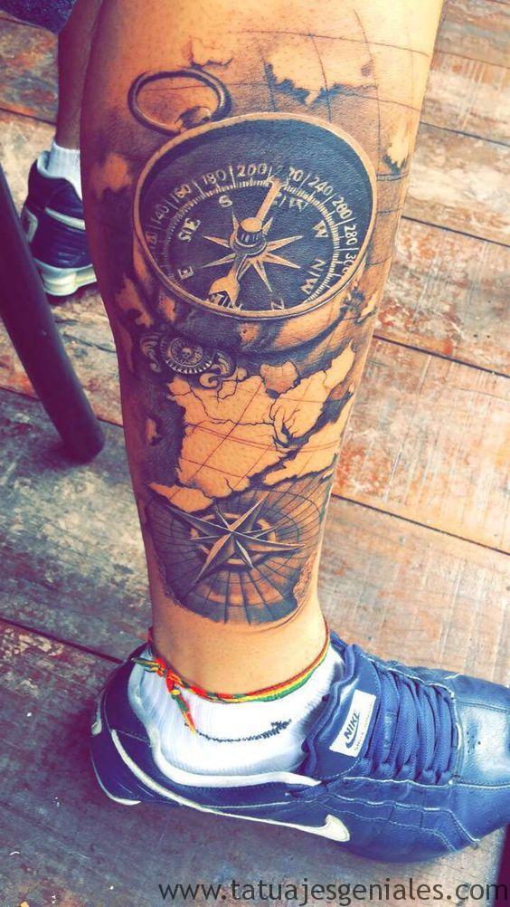 tatouages d'étoiles nautiques 8