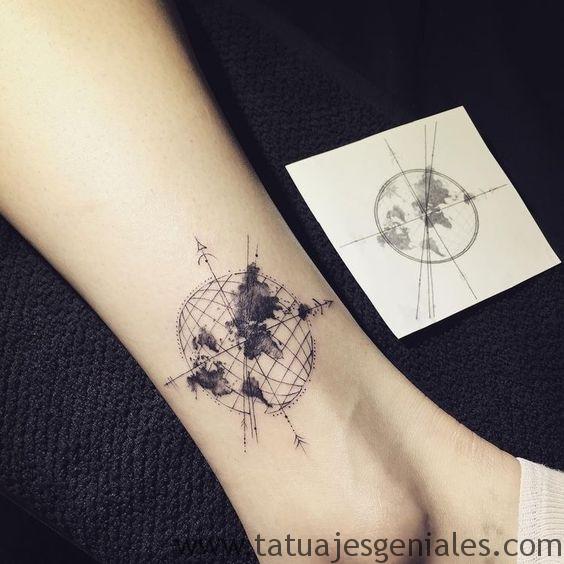 tatouages d'étoiles nautiques 6
