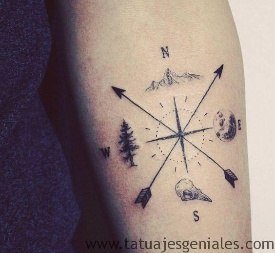 tatouages d'étoiles nautiques 11