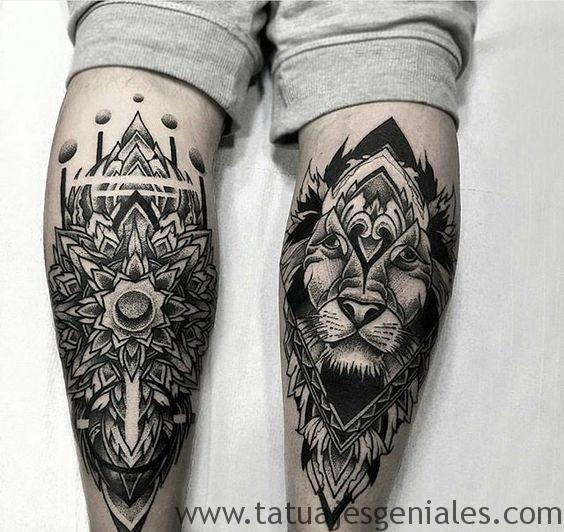 tatouage homme jambes tatouages 3