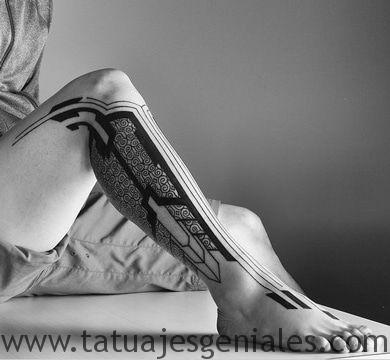 tatouage homme jambes tatouages 5