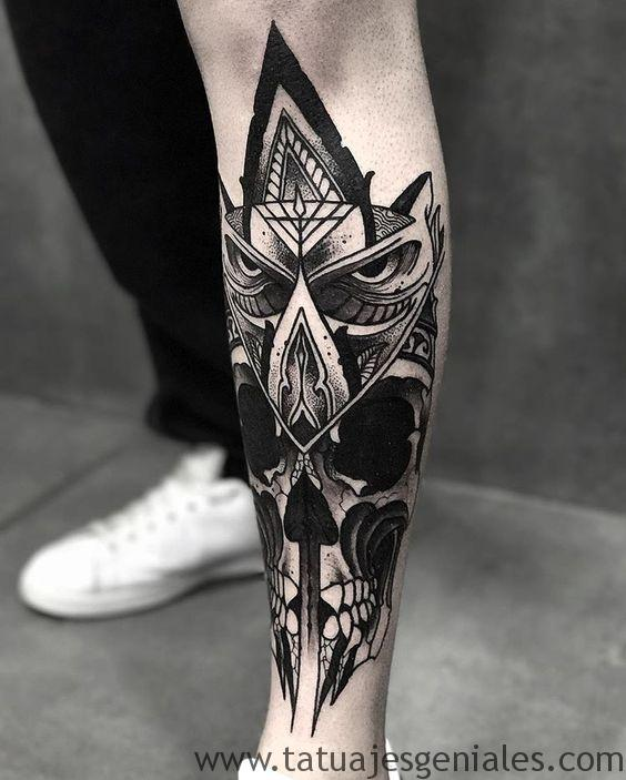 tatouage homme jambes tatouages 8