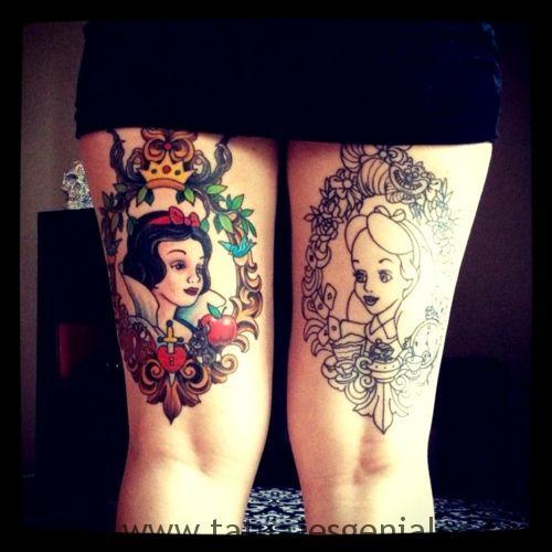tatus cuisse femme 15