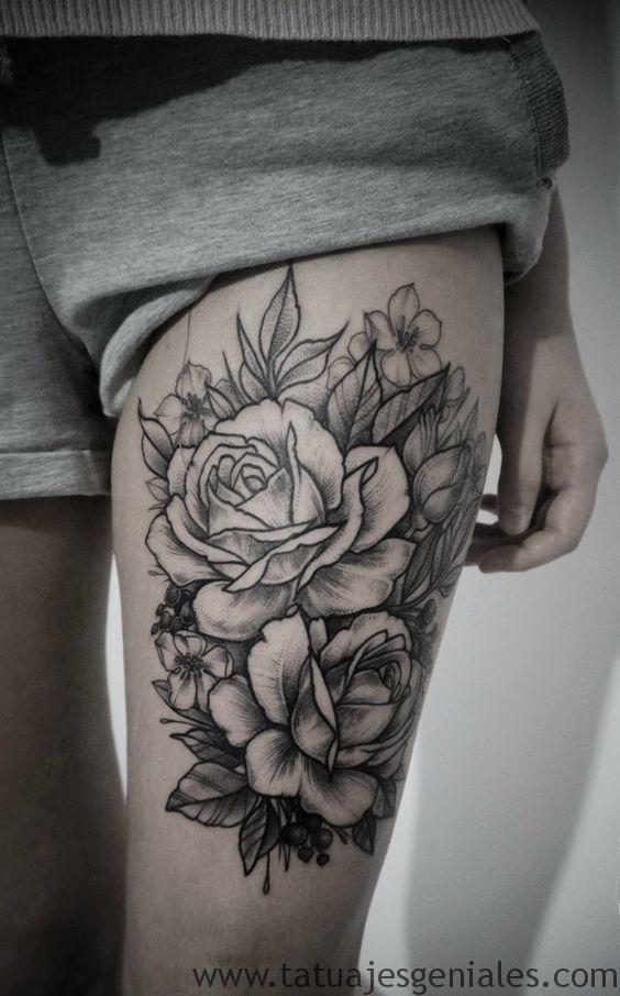 tatus cuisse femme 17