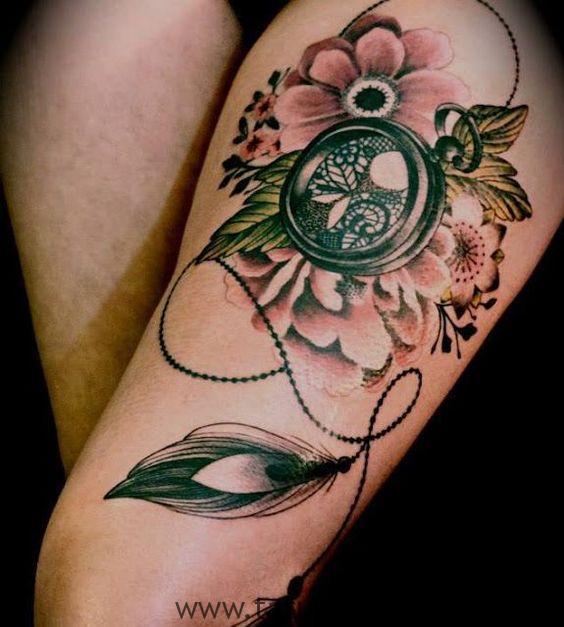 tatus cuisse femme 19