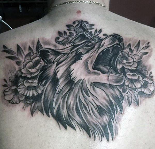 tatouages d'un loup 4