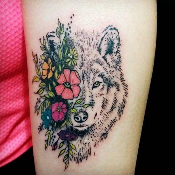 tatouages d'un loup 5
