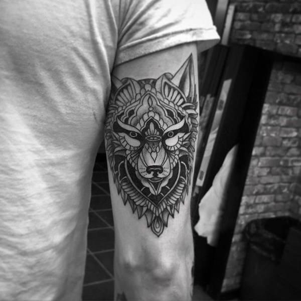tatouages d'un loup 6