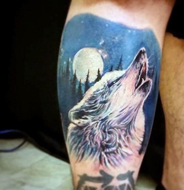 tatouage de loup 6
