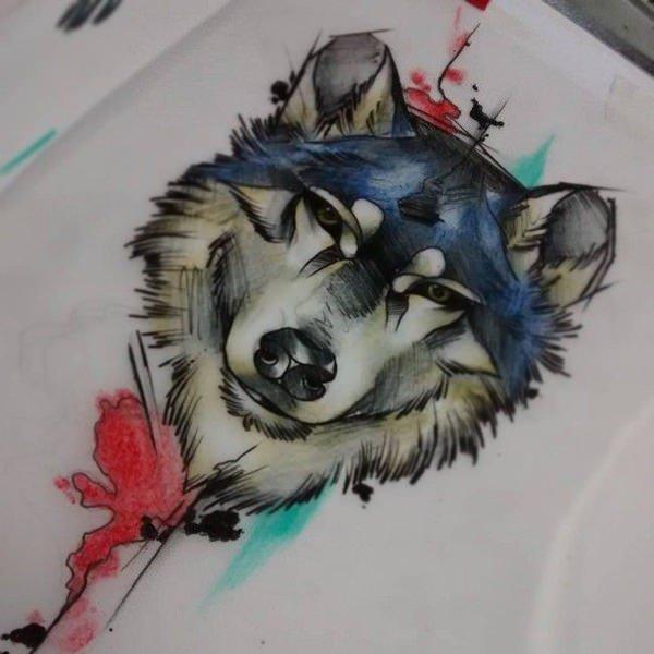 tatouage de loup 4
