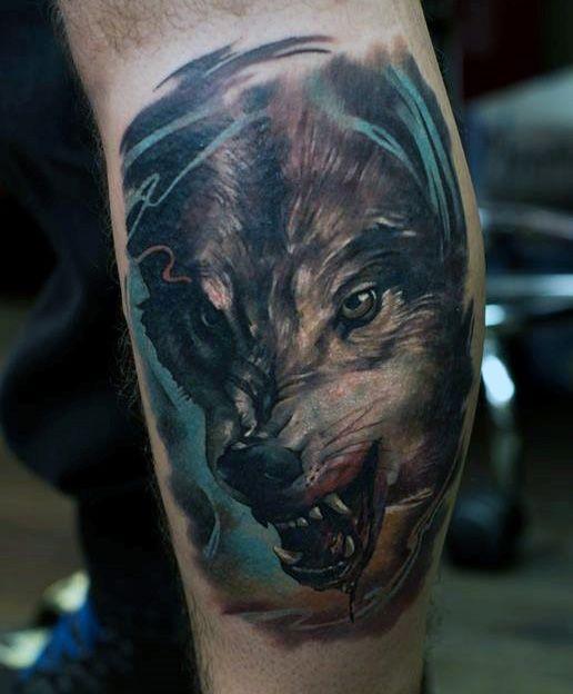tatouage de loup 1