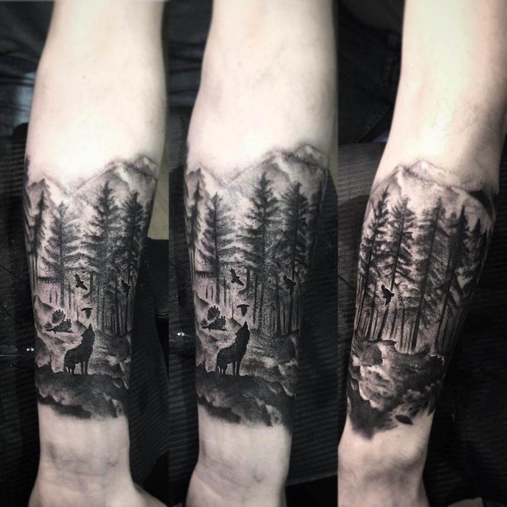 tatouage de loup sauvage signifiant 1 1024x1024