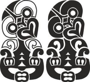 tatouage maorie hei tiki 300x271