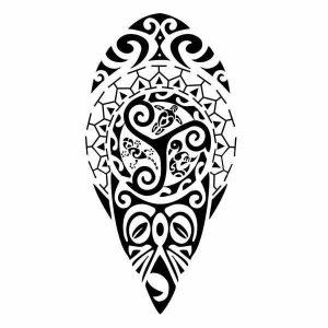 tatouage maorie les flèches 300x300