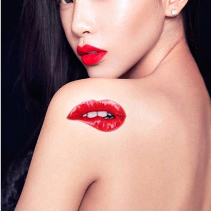 lèvres rouges rouges 1