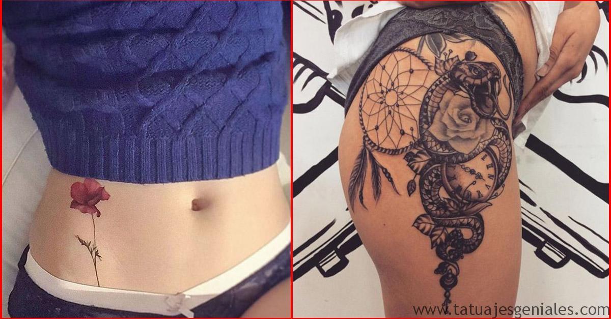 couverture de tatouage de hanche