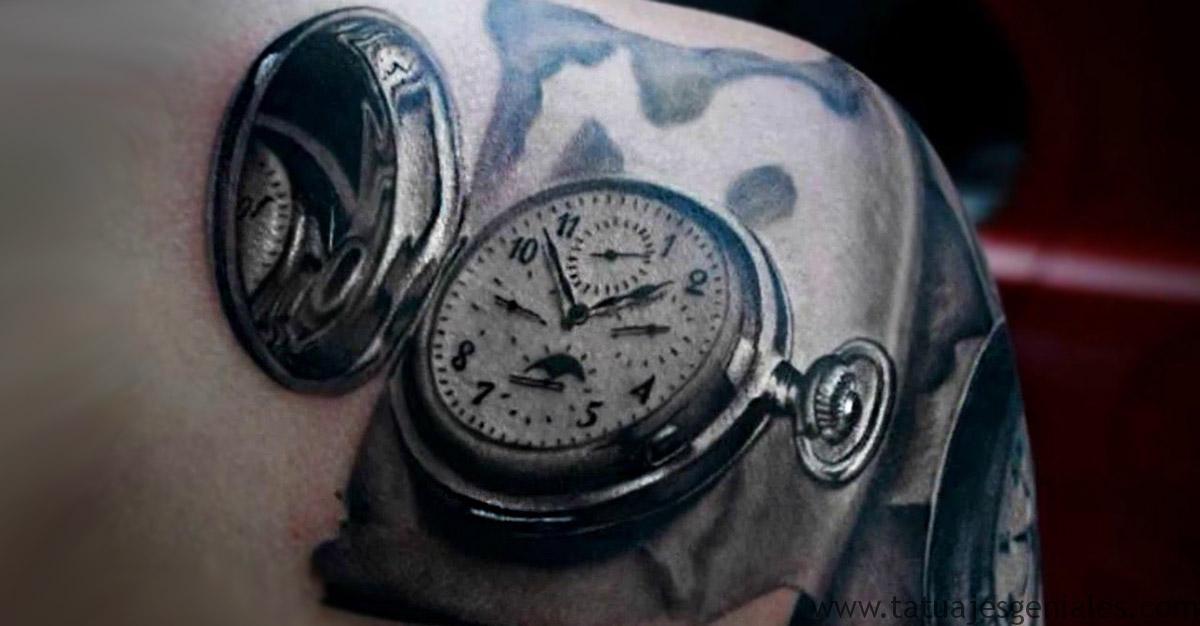 couverture tatouages montre