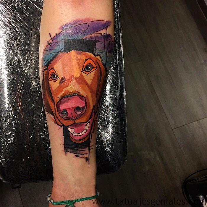 tatouages de chiens 5