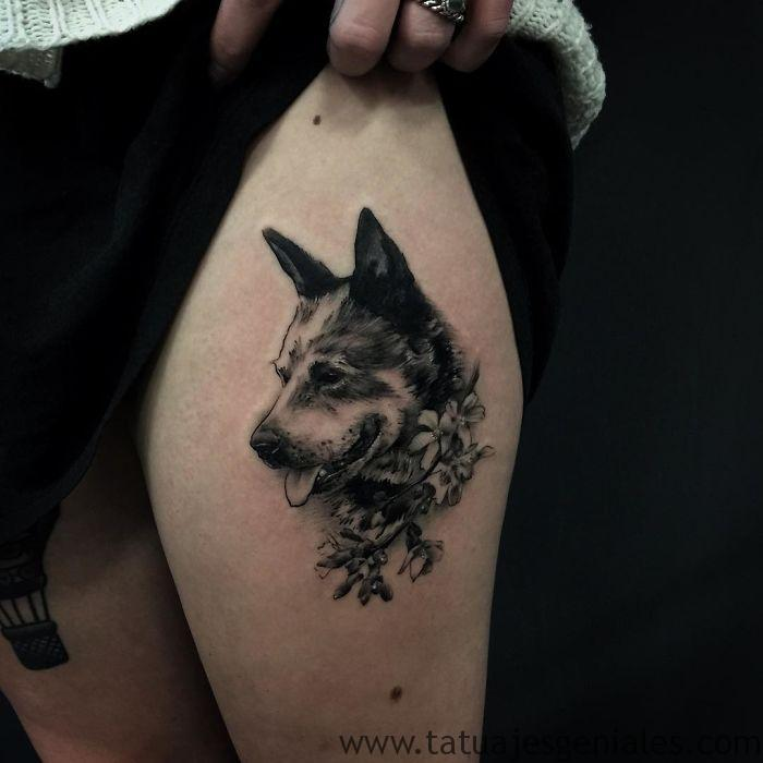 tatouages de chiens 6