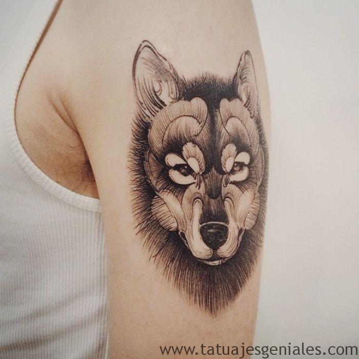 tatouages de chiens 4