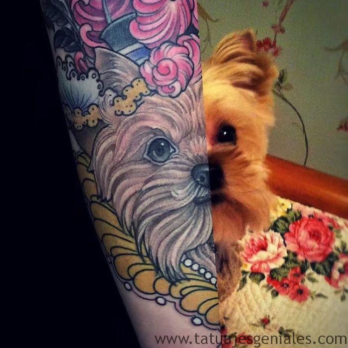 tatouages de chiens 36