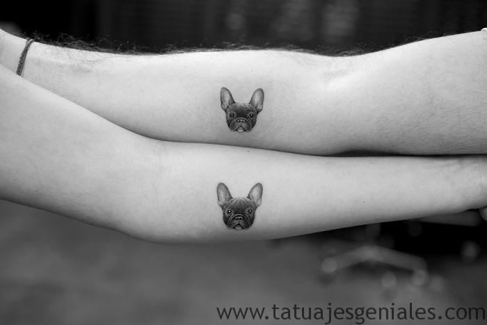 tatouages petits chiens poupées 2