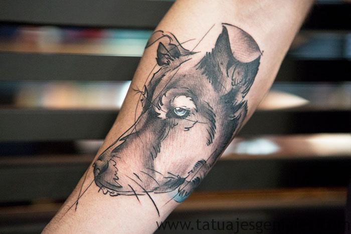 tatouages de chiens 11