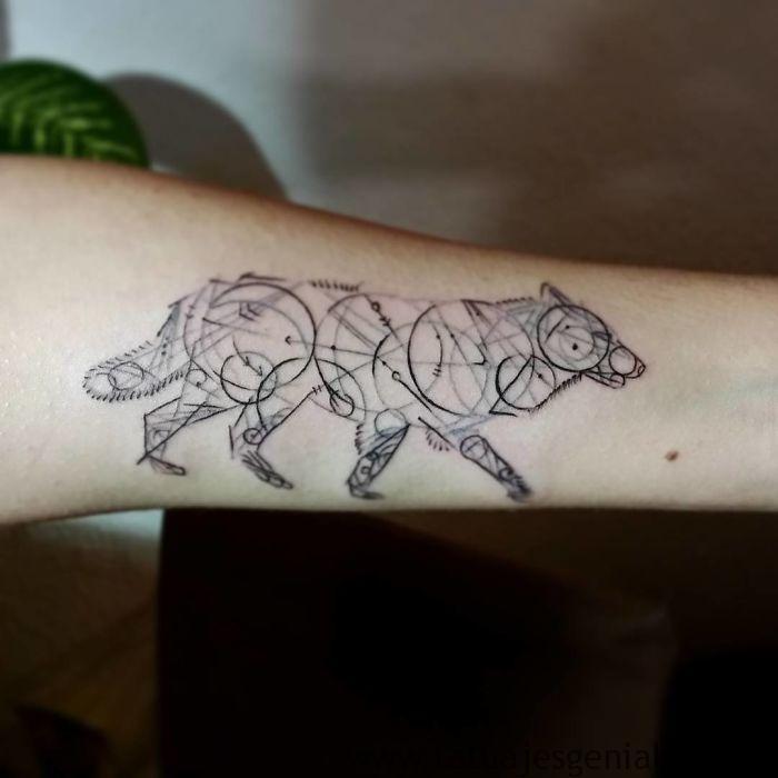 tatouages de chiens 14