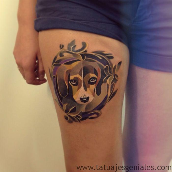 tatouages de chiens 16