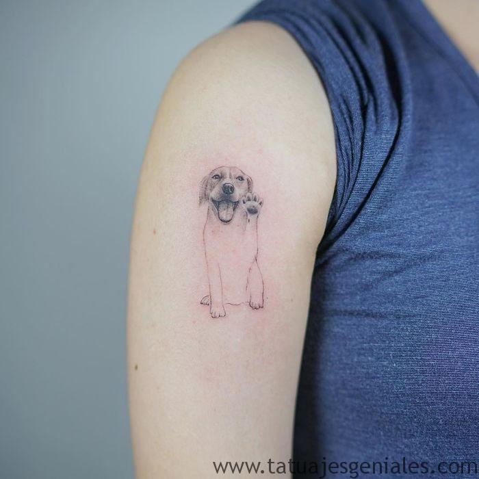 tatouages de chiens 17