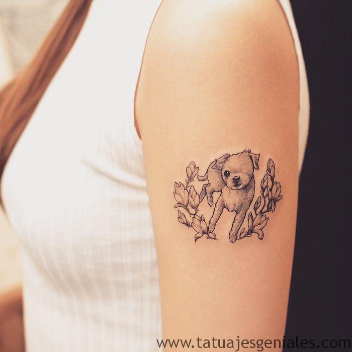 tatouages de chiens 24