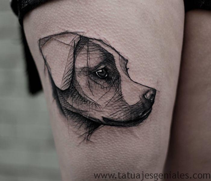 tatouages de chiens 42