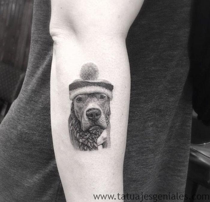 tatouages de chiens 44