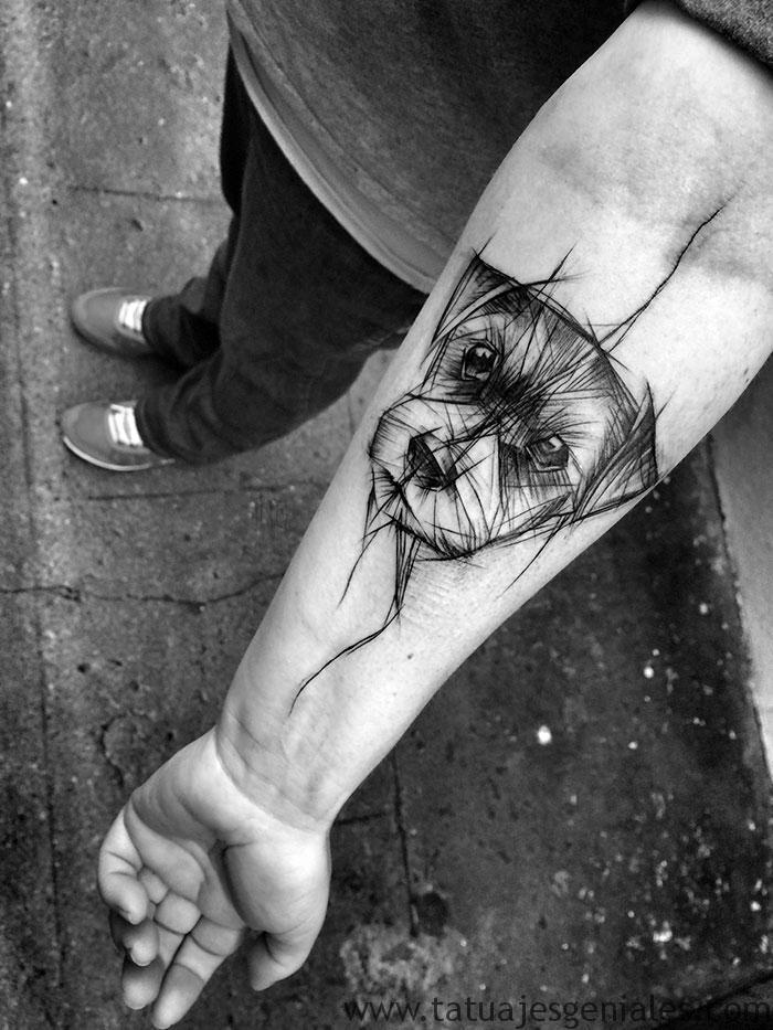 tatouages de chiens 43