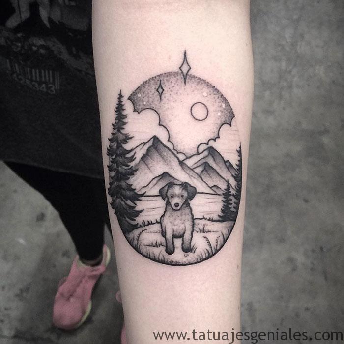 tatouages de chiens 47