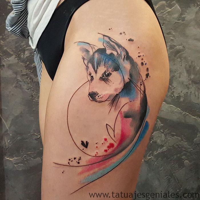 tatouages de chiens 52
