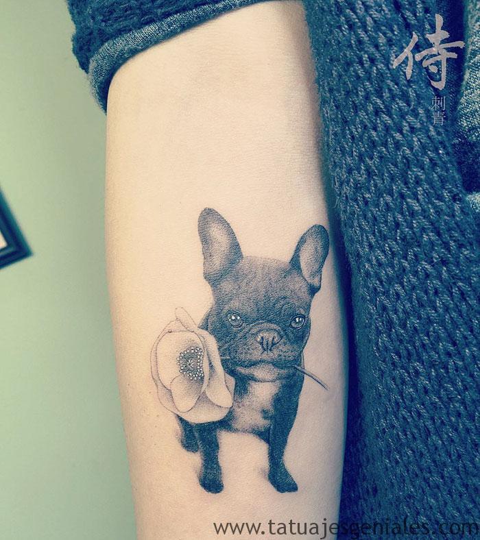 tatouages de chiens 55