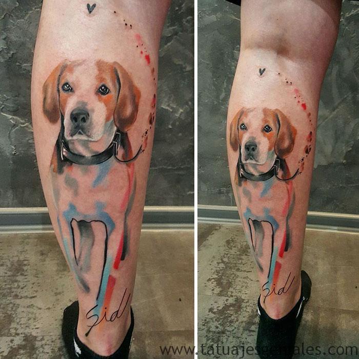 tatouages de chiens 54