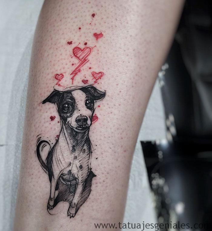 tatouages de chiens 57