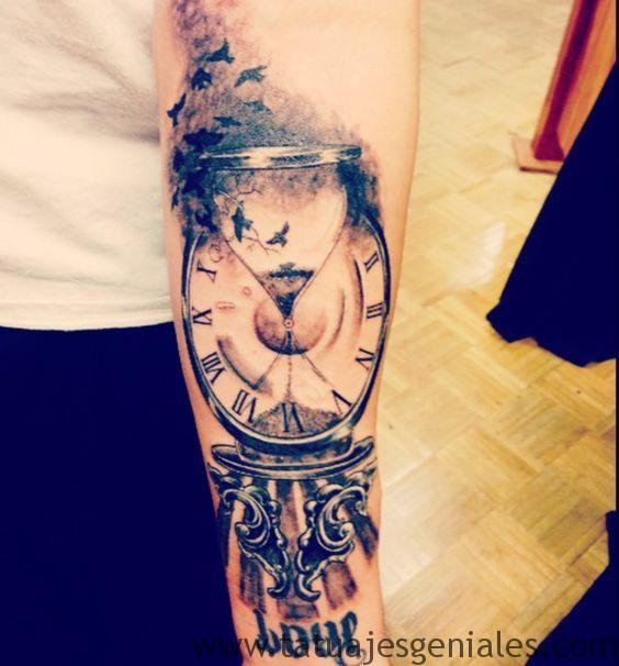 tatouage sablier 6